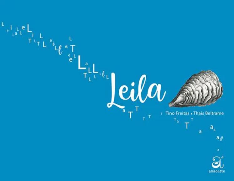 Capa do livro Leila.