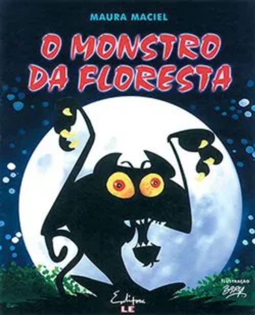 Livro O monstro da floresta