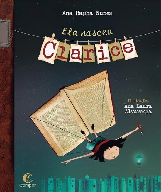 Capa do livro Ela nasceu Clarice.