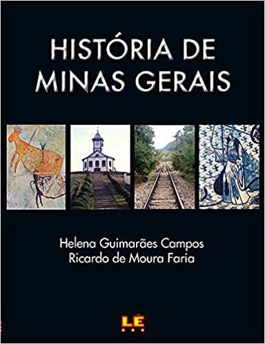 Livro História de Minas Gerais.