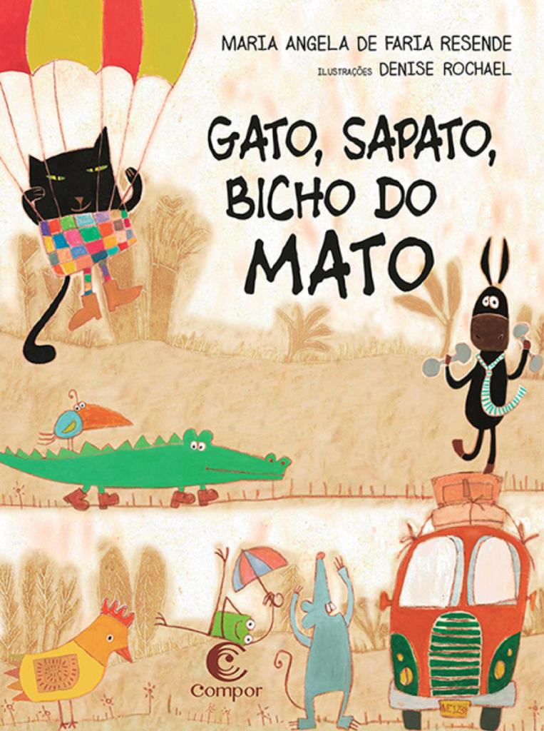 Capa do livro Gato, sapato, bicho do mato.