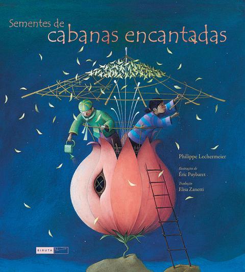 Capa do livro Sementes de cabanas encantadas. Imagem ilustrativa texto editoras distribuídas.