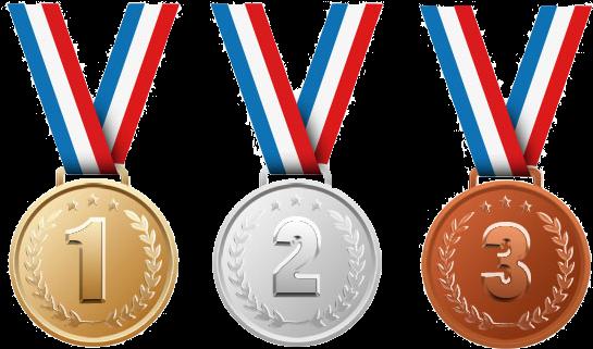 Emoji medalhas