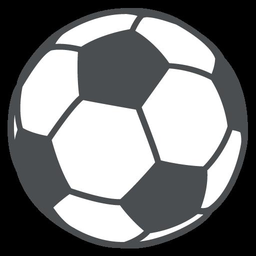 Emoji bola de futebol
