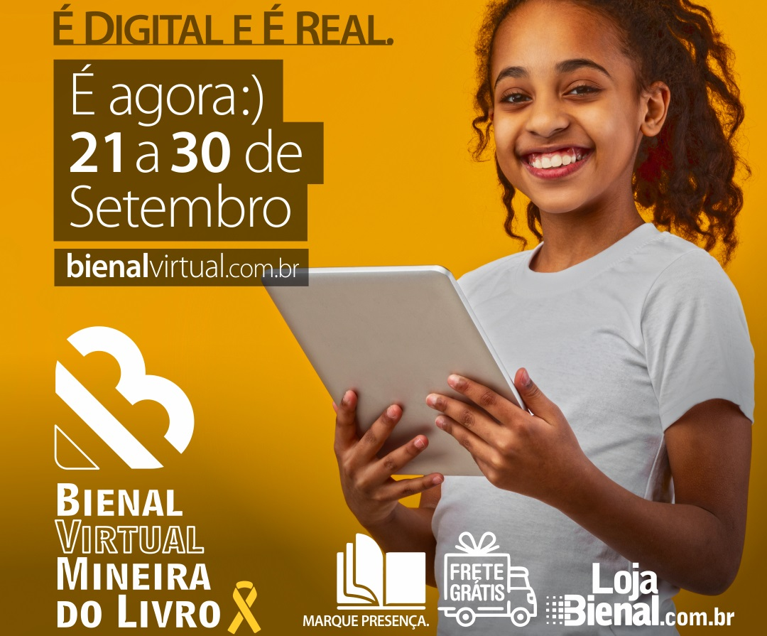 Menina. Bienal Virtual Mineira do Livro.