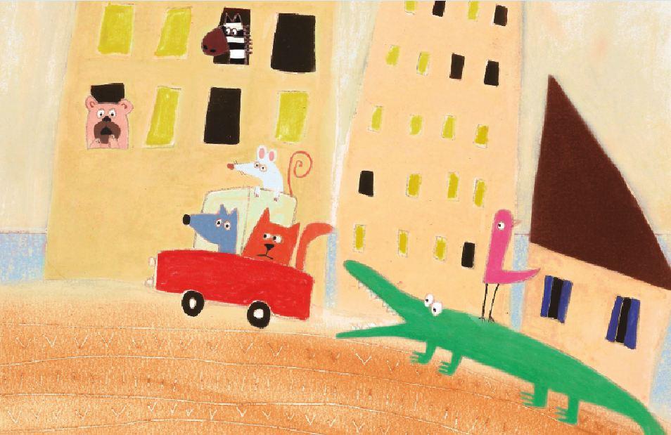 Página do livro Gato, sapato, bicho do mato.