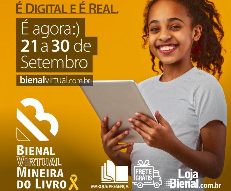 Bienal Virtual Mineira do Livro: veja aqui a programação completa